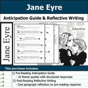 Jane Eyre - Anticipation Guide & Reflection