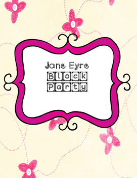 Jane Eyre Block Party Cards