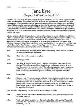 Jane Eyre Chapter 1 and 2 Script