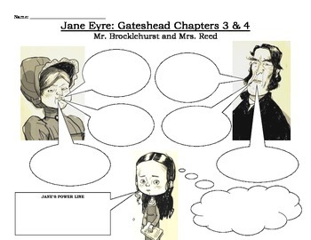 Jane Eyre Chapters 3 and 4 Handout