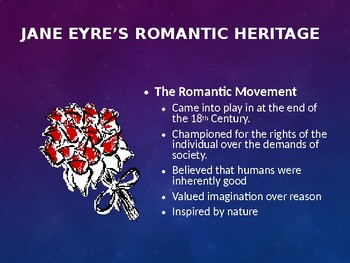Jane Eyre: Characters, Theme, Motifs, and Charlotte Bronte PowerPoint