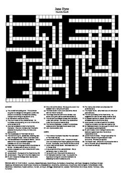 Jane Eyre - Crossword Puzzle