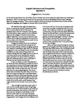 jane eyre essays teaching resources  teachers pay teachers jane eyre essay prompt jane eyre essay prompt