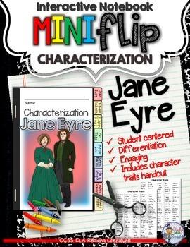 JANE EYRE: INTERACTIVE NOTEBOOK CHARACTERIZATION MINI FLIP