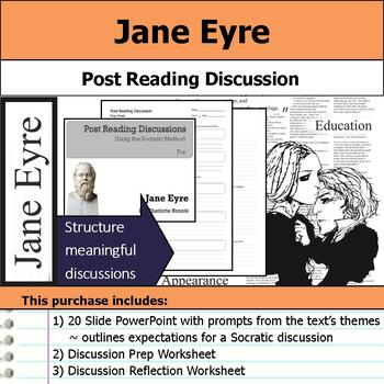 Jane Eyre - Socratic Method - Post Reading Discussions
