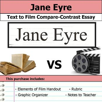 Jane Eyre - Text to Film Essay Bundle