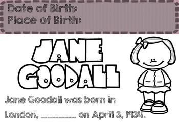 Jane Goodall - Biography