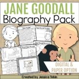 Jane Goodall Biography Pack