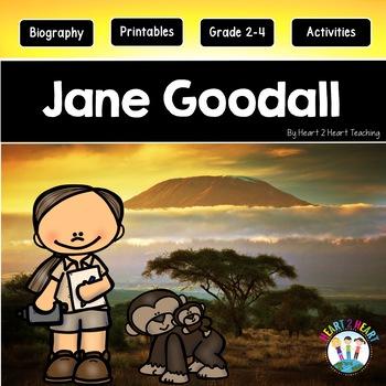 Jane Goodall Activity Pack {Articles, Activities & Flip Book}