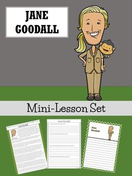 Jane Goodall Mini-Lesson Set