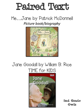 Paired Text Jane Goodall