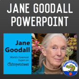 Jane Goodall PowerPoint for Women's History Month