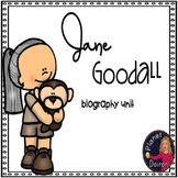 Jane Goodall biography and chimpanzees comprehension and centers