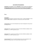 UPDATED: 5 Paragraph Essay Sentence by Sentence Structure Outline