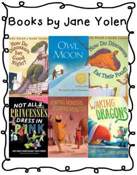 Jane Yolen Author Study {{2 Week Unit}}