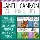 Janell Cannon Author Study Bundle