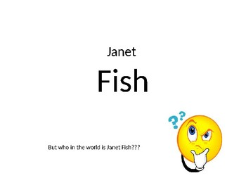Janet Fish Power Point Lesson