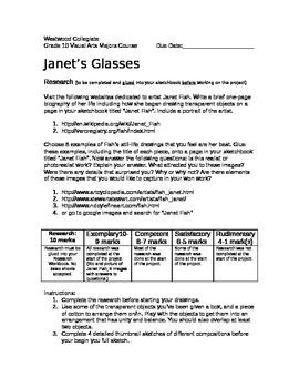 Janet's Glasses