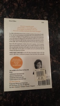 Janice VanCleave's Physics for Every Kid: 101 Easy Experiments