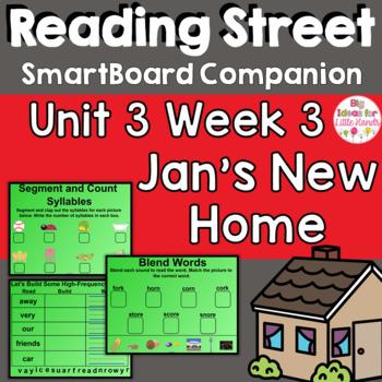 Jan's New Home SmartBoard Companion 1st First Grade