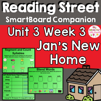Jan's New Home SmartBoard Companion 1st First Grade