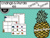 Endings & Plurals -es Centers and Games