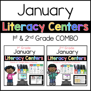 1st and 2nd January literacy menus