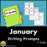 Writing Prompts January 1st Grade Common Core
