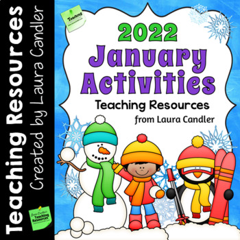 January 2019 Activities and Printables for New Year's Day, MLK Day, and Winter