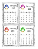 January 2015 HW Sticker Chart