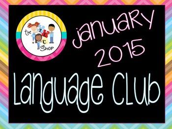 January 2015 Language Club