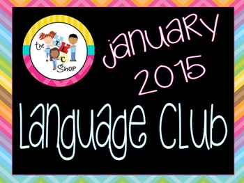 January 2015 Language Club