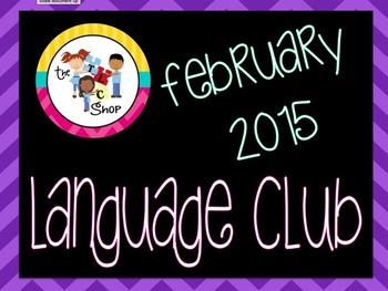 February 2015 Language Club