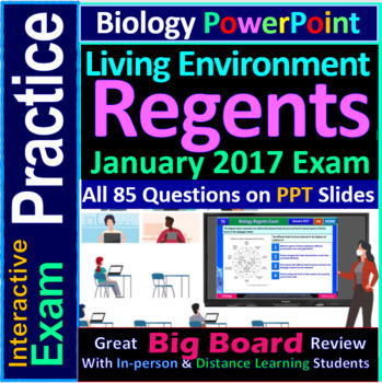 Biology Regents PowerPoint Spectacular - January 2017 Living Environment Exam