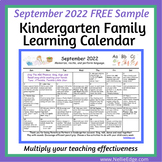 September 2020 FREE Family Learning Calendar