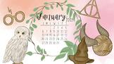January 2019 Harry Potter Computer Wallpaper FREEBIE by Taracotta Sunrise