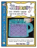 January 2021 Calendar Grid