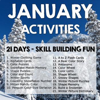 January : 21 Skill Building Activities