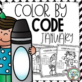 Winter Coloring Pages | Winter Color by Code