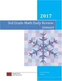 January 3rd Grade Math Daily Review