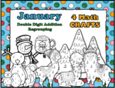 January 4 Double Digit Regrouping Math CRAFTS