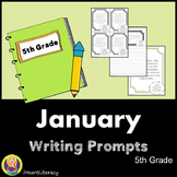 Writing Prompts January 5th Grade Common Core