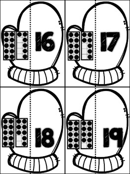 January! 7 Math Centers for Counting & Cardinality! Count & Recognize Numbers!