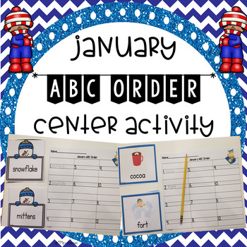 January ABC Order Center