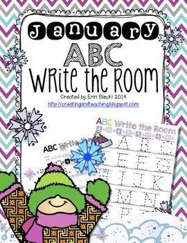 January ABC Write the Room