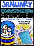 January Academic Sensory Bin