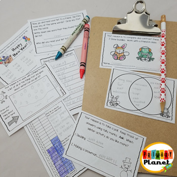 January Thinking Activities Fun critical thinking activities for morning work