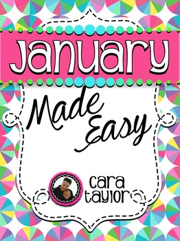 January Activities ~ Math, Literacy and Writing Made Easy!