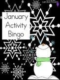 January Activity Bingo