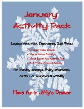 January Activity Packet